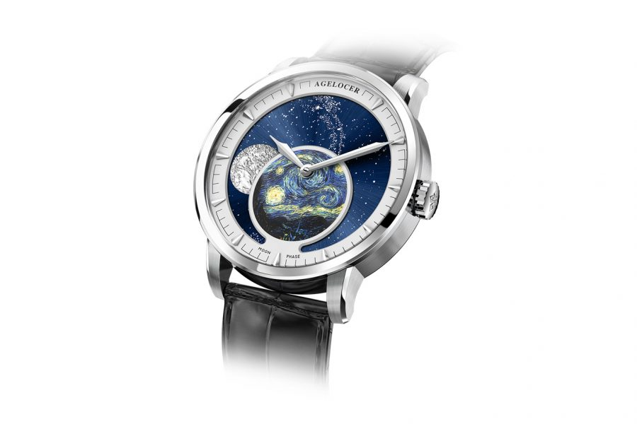 Đồng Hồ Nam Agelocer Moon Phases 6401A1