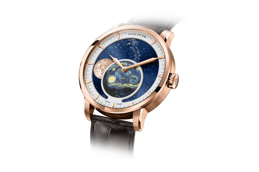 Đồng Hồ Nam Agelocer Moon Phases 6401D2