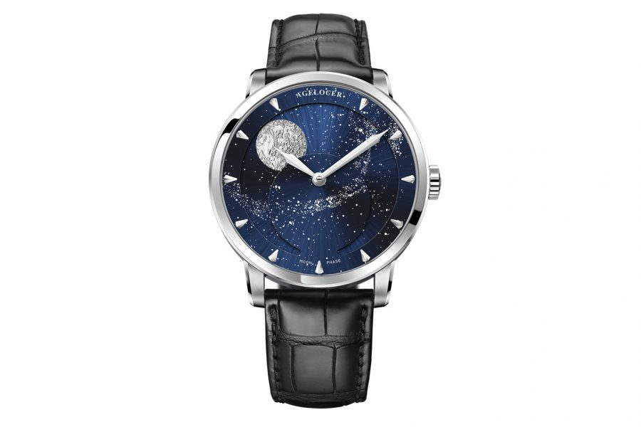 Đồng Hồ Nam Agelocer Moon Phases 6404A1