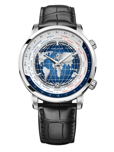 Đồng Hồ Nam Agelocer World time 5201A1